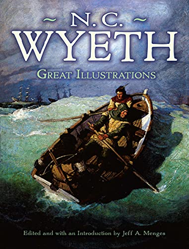 9780486472959: Great Illustrations by N. C. Wyeth (Dover Fine Art, History of Art)