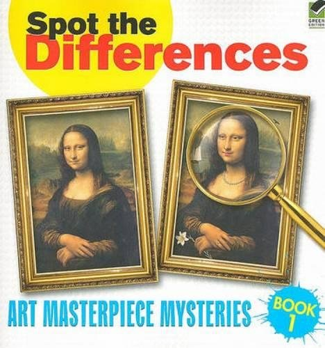 9780486472997: Spot the Differences Book 1: Art Masterpiece Mysteries (Dover Children's Activity Books)