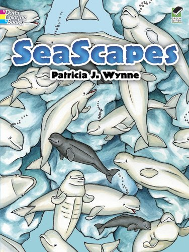 SeaScapes (Dover Nature Coloring Book): Wynne, Patricia J.