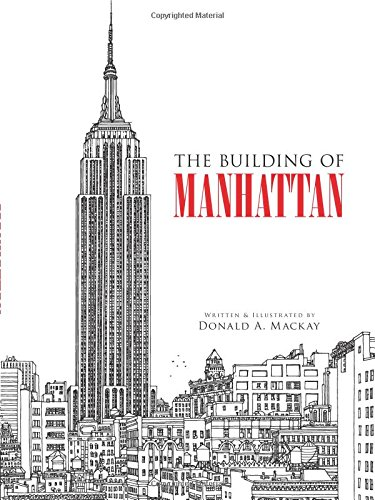 9780486473178: The Building of Manhattan (Dover Architecture)