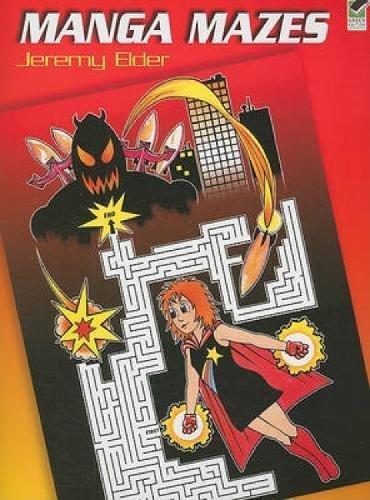 9780486473291: Manga Mazes (Dover Children's Activity Books)