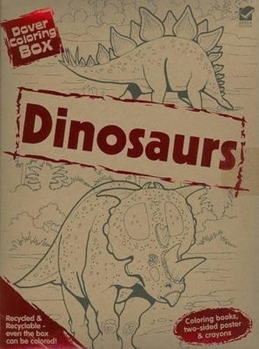 9780486473420: Dover Coloring Box - Dinosaurs