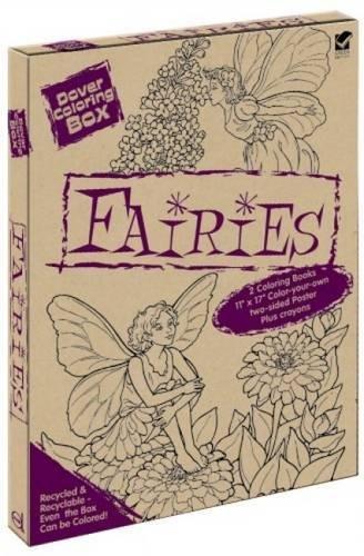 9780486473444: Dover Coloring Box - Fairies: Green Edition