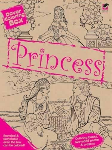 9780486473475: Dover Coloring Box -- Princess (Dover Fun Kits)