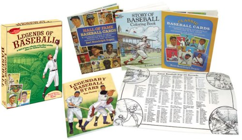 9780486473543: Legends of Baseball Discovery Kit (Dover Discovery Kit)