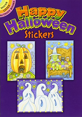 9780486473864: Happy Halloween Stickers (Dover Little Activity Books Stickers)