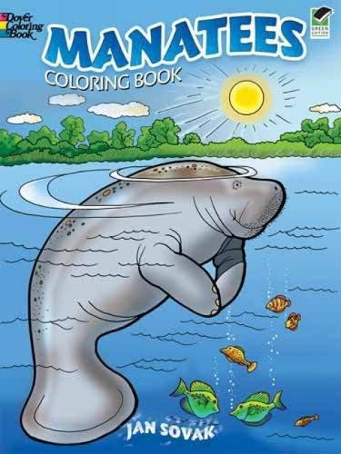 9780486473901: Manatees Coloring Book (Dover Coloring Books) (Dover Nature Coloring Book)