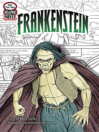 9780486474151: Color Your Own Graphic Novel FRANKENSTEIN (Dover Classic Stories Coloring Book)