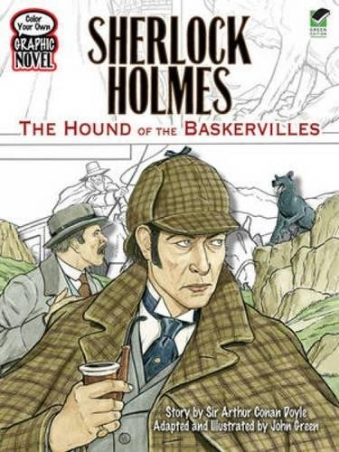 Color Your Own Graphic Novel SHERLOCK HOLMES: Doyle, Sir Arthur