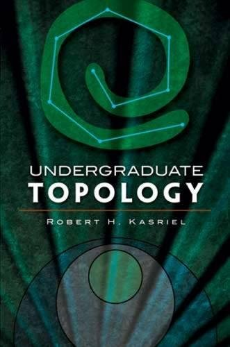 9780486474199: Undergraduate Topology (Dover Books on Mathematics)