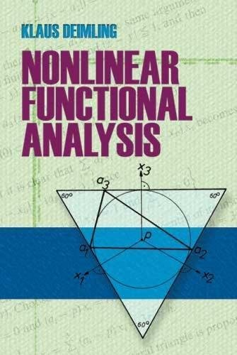 9780486474410: Nonlinear Functional Analysis (Dover Books on Mathematics)