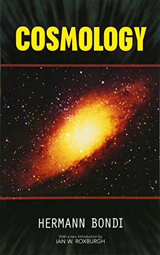 9780486474830: Cosmology (Dover Books on Physics)