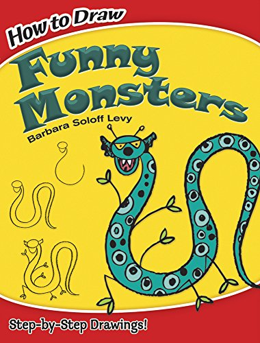 9780486474939: How to Draw Funny Monsters (Dover How to Draw)