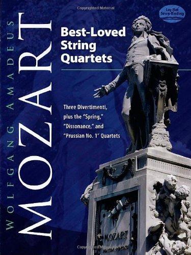 9780486474984: Best-Loved String Quartets: Three Divertimenti, plus the