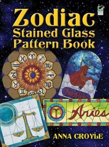 9780486474991: Zodiac Stained Glass Pattern Book (Dover Stained Glass Instruction)