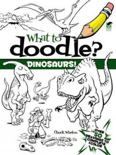 9780486475141: Dinosaurs! (Dover Doodle Books)
