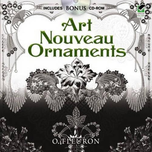 9780486475295: Art Nouveau Ornaments