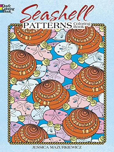 9780486475592: Seashell Patterns Coloring Book