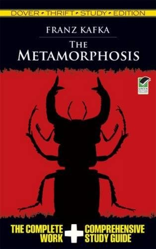 9780486475714: The Metamorphosis (Dover Thrift Study Edition)