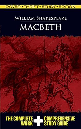9780486475752: Macbeth (Dover Thrift Study Edition)