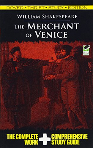 9780486475783: The Merchant of Venice (Dover Thrift Study Edition)