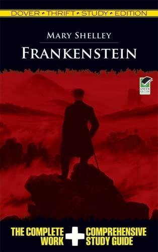 Frankenstein Thrift Study Edition (Dover Thrift Study: Mary Shelley