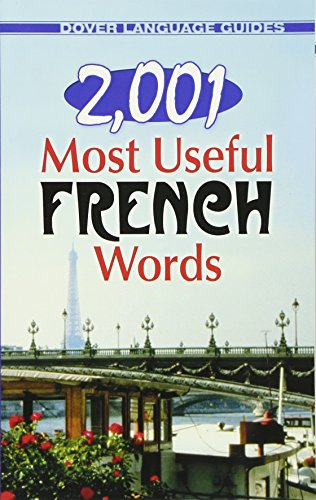 9780486476155: 2,001 Most Useful French Words (Dover Language Guides French) (English and French Edition)