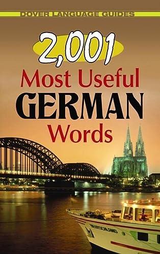 9780486476261: 2,001 Most Useful German Words