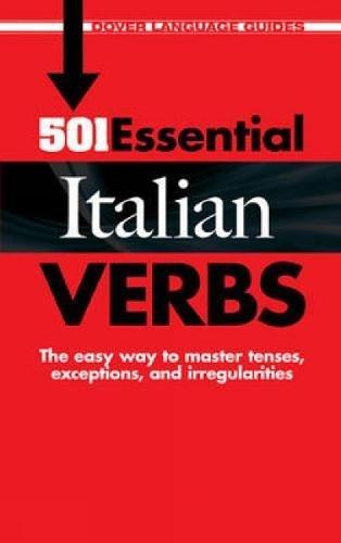 9780486476278: 501 Essential Italian Verbs (Dover Language Guides Italian)