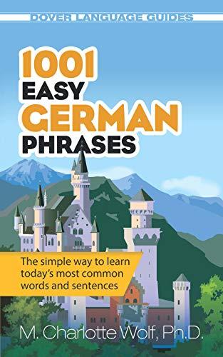 9780486476308: 1001 Easy German Phrases