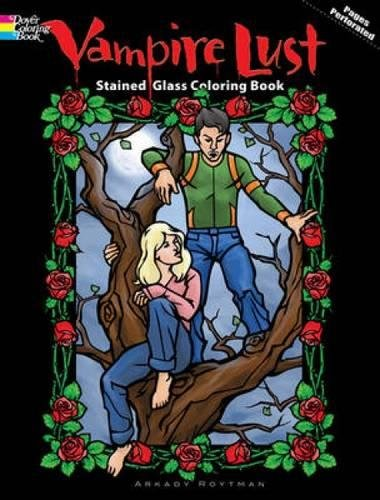 9780486476384: Vampire Lust Stained Glass Coloring Book (Dover Stained Glass Coloring Book)