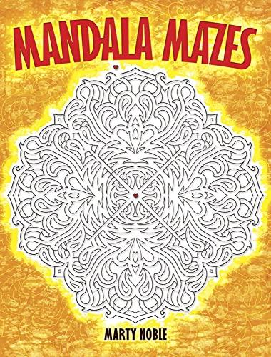 9780486476537: Mandala Mazes (Dover Children's Activity Books)