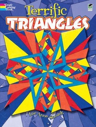 9780486476780: Terrific Triangles (Dover Design Coloring Books)