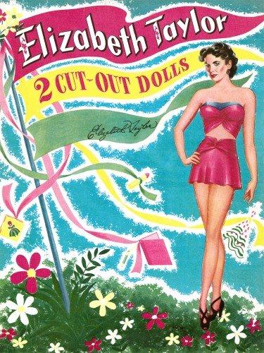 9780486477473: Elizabeth Taylor Vintage Paper Dolls