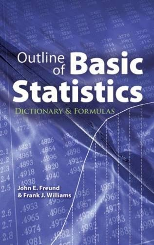 9780486477695: Outline of Basic Statistics: Dictionary and Formulas (Dover Books on Mathematics)