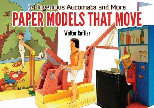 9780486477930: Paper Models That Move: 14 Ingenious Automata, and More (Dover Origami Papercraft)