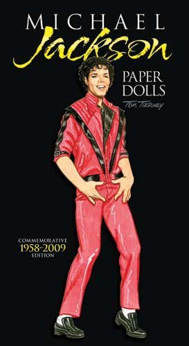 9780486477961: Michael Jackson Paper Dolls, Commemorative Edition 1958-2009 (English and English Edition)