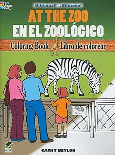 9780486478142: At the Zoo/En el Zoológico: Bilingual Coloring Book (Dover Children's Bilingual Coloring Book) (English and Spanish Edition)