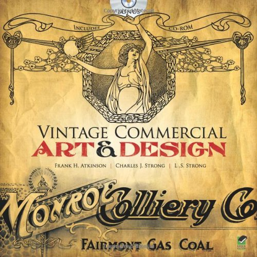 9780486478456: Vintage Commercial Art and Design (Dover Pictorial Archive)