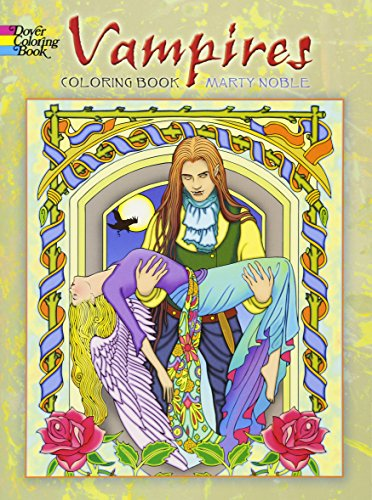 9780486478487: Vampires Coloring Book (Dover Coloring Books)