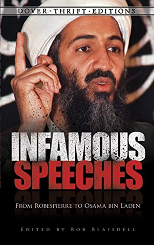 9780486478494: Infamous Speeches: From Robespierre to Osama bin Laden (Dover Thrift Editions)