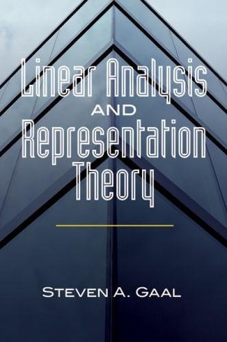 9780486478517: Linear Analysis and Representation Theory