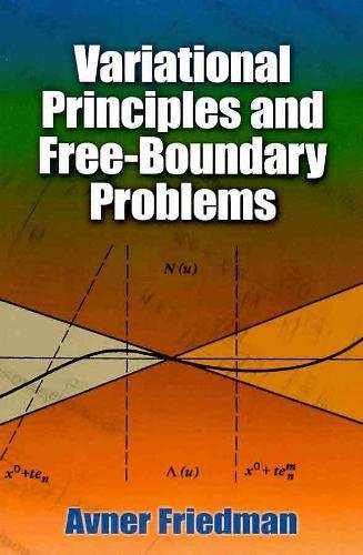 9780486478531: Variational Principles and Free-Boundary Problems (Dover Books on Mathematics)
