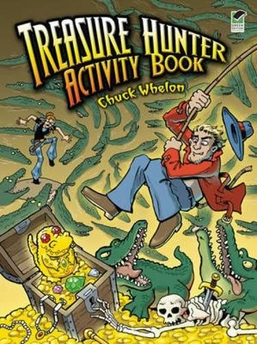 Treasure Hunter Activity Book: Chuck Whelon
