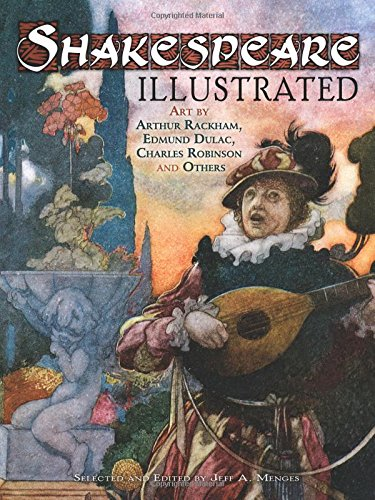 9780486478906: Shakespeare Illustrated: Art by Arthur Rackham, Edmund Dulac, Charles Robinson and Others