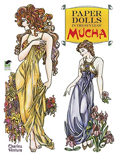 9780486479217: Paper Dolls in the Style of Mucha