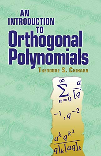 9780486479293: An Introduction to Orthogonal Polynomials (Dover Books on Mathematics)