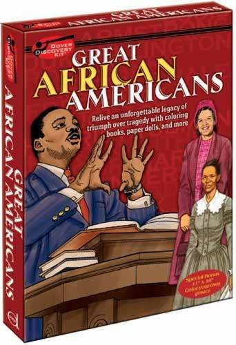 9780486479330: Great African Americans Discovery Kit (Dover Fun Kits)