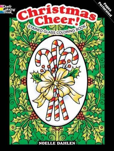 9780486479361: Christmas Cheer! Stained Glass Coloring Book (Holiday Stained Glass Coloring Book)