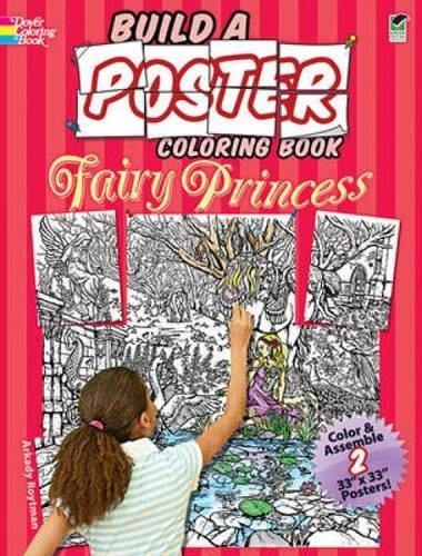 9780486479439: Fairy Princess (Dover Build A Poster Coloring Book)